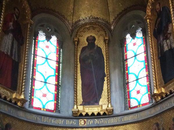 Vetrata della cappella di San Paolo
