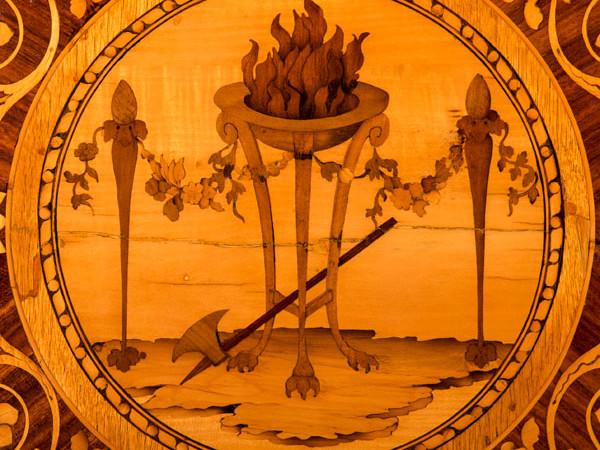 Giuseppe Maggiolini, Tarsia in legni policromi da un disegno di Andrea Appiani (1790 ca.)