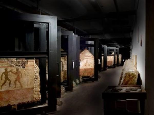 Depositi del Parco archeologico di Paestum