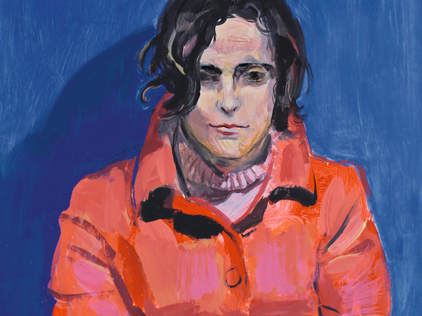 Luca Vernizzi, Anna, 2013, tempera su cartoncino, cm73x51