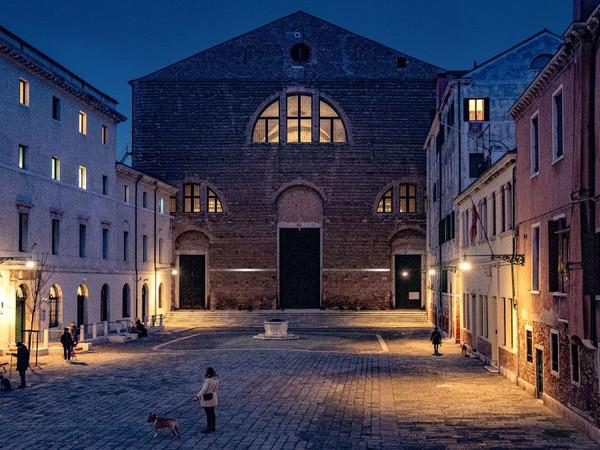 Chiesa di San Lorenzo, Venezia, notturna