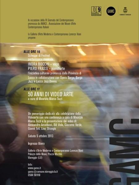 50 anni di video arte. IX Giornata del Contemporaneo