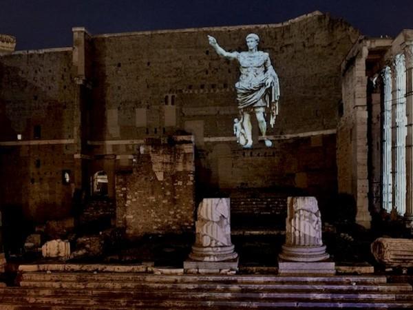 Un viaggio notturno nel tempo al foro di augusto roma for Augusto roma