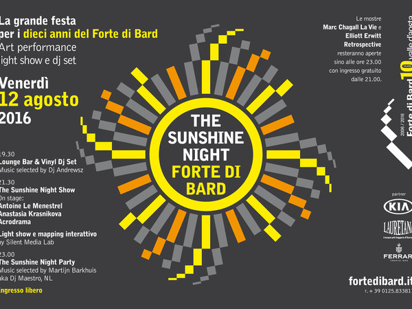 The Sunshine Night Party Forte di Bard