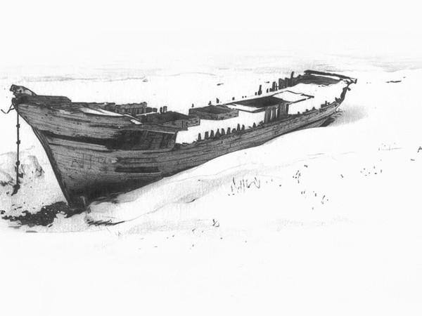 Enzo De Leonibus e Marco Neri. Imbarcata