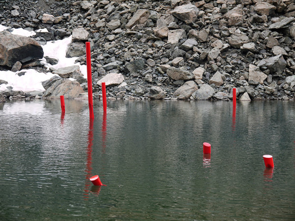 Dentro l'Antropocene di Alberto Timossi, Lago del Col d'Olen