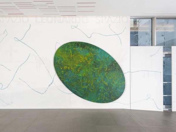 Thomas Berra, Tutti dobbiamo dei soldi al vecchio sarto di Toledo, installation view, Spazio Leonardo, Milano