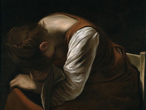 Michelangelo Merisi da Caravaggio, <em>Maddalena in pianto</em>, olio su tela, 92x112 cm, collezione privata. Courtesy of Studio MM