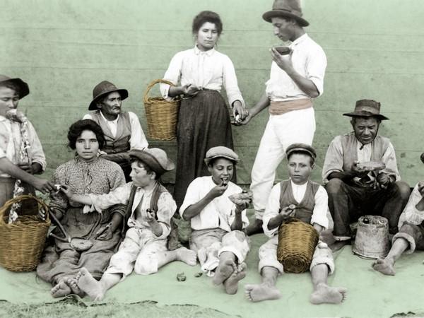 Giuseppe Plaumbo, <em>Il modesto pasto del mezzogiorno</em>, 1907-1908. Courtesy of Archivio Palumbo-Museo Nazionale delle Arti e Tradizioni Popolari