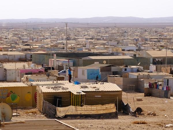 Margherita Moscardini, Al Za'atari Refugee Camp