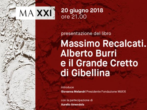 Massimo Recalcati, Alberto Burri. Il Grande Cretto di Gibellina