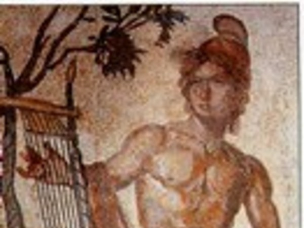 Mosaico con Orfeo