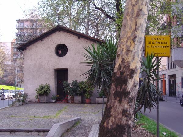 Oratorio di San Protaso al Lorenteggio o Chiesa delle lucertole