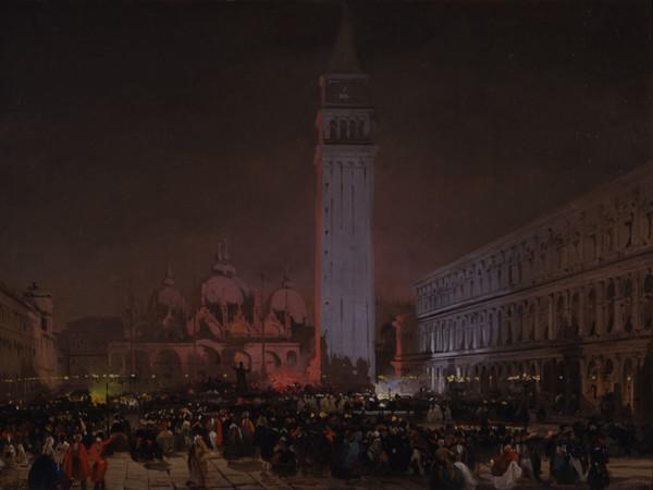 Ippolito Caffi, <em>Venezia Sera di Carnevale</em> | Foto Franzini 2002