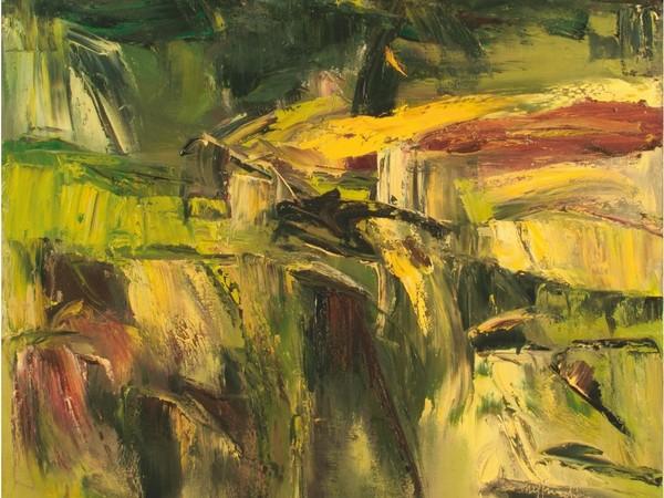 Carlo Mastronardi, Calanchi, 2014, olio su tela, 100x90 cm