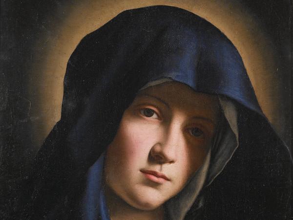 Giovan Battista Salvi detto il Sassoferrato, Madonna orante, Olio su tela, 34.5 x 44.7 cm, Macerata, Palazzo Buonaccorsi