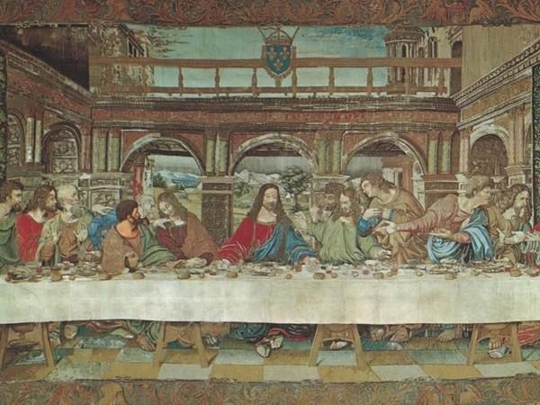 Artista lombardo, <em>Cenacolo di Leonardo</em>, Arazzo, 1505-1510
