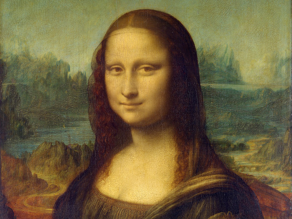 Leonardo da Vinci, Ritratto di Lisa Gherardini, sposa di Francesco del Giocondo, detta Monna Lisa, la Giocond , 1503 - 1519 ca., Olio su tavola di legno di pioppo, 77 x 53 cm, Parigi, Musée du Louvre