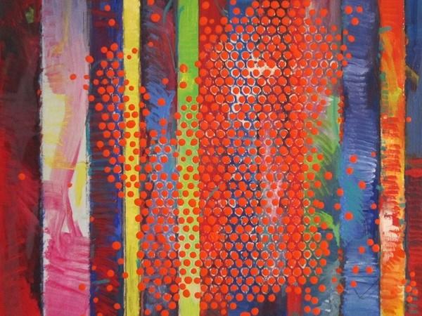 Massimo Kaufmann, Senza Titolo, olio su tela (50x50)