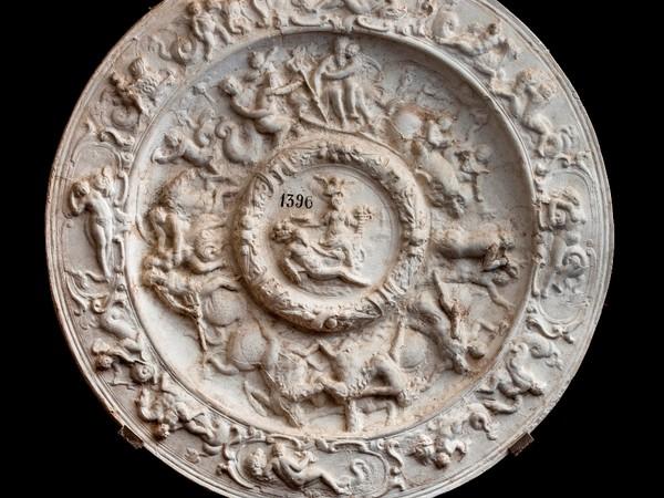 Allegoria del dominio della Toscana sul mare calco in gesso, 1680. Firenze, Gallerie degli Uffizi, Tesoro dei Granduchi