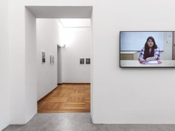 Anush Hamzehian / Vittorio Mortarotti. Most were silent, Galleria Alberto Peola, Torino