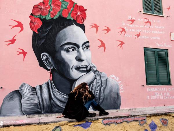 Manuela Merlo, Frida Kahlo, Quartiere Trullo di Roma