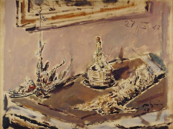 Filippo De Pisis, Natura morta con lepre, 1942 I Ph. Alberto Bortoluzzi 2006