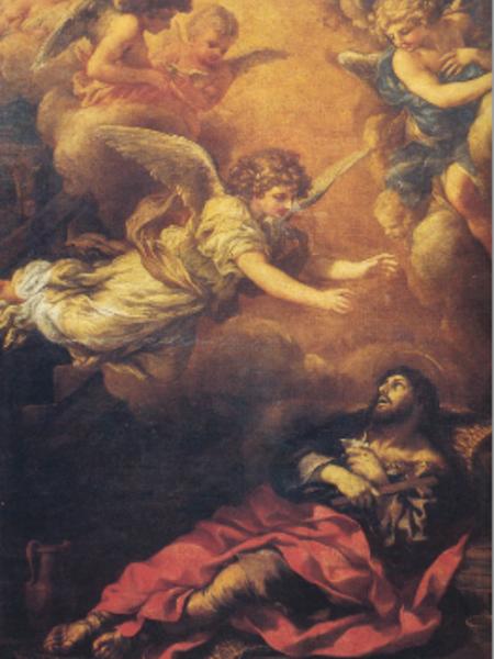 Sant'Alessio moribondo