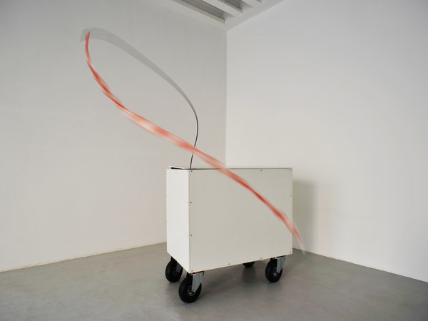 Carlo Caloro, Ruet Moles et Macchina Mundi, 2017, kinetic sculpture