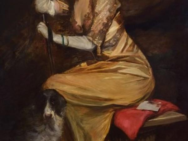 Lino Selvatico, Signora in giallo