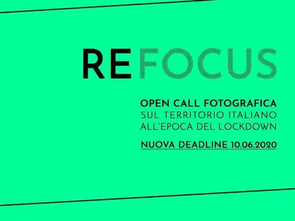 REFOCUS - Open call fotografica sul territorio italiano all'epoca del lockdown