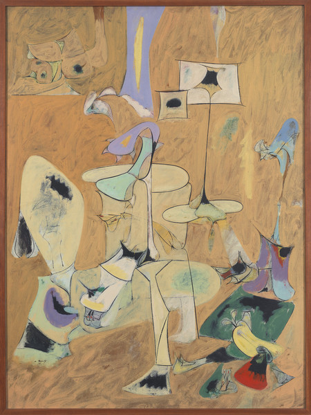 Arshile Gorky, The Betrothal, II, 1947, Olio su tela, 128,9 x 96,5 cm &nbsp;<br />