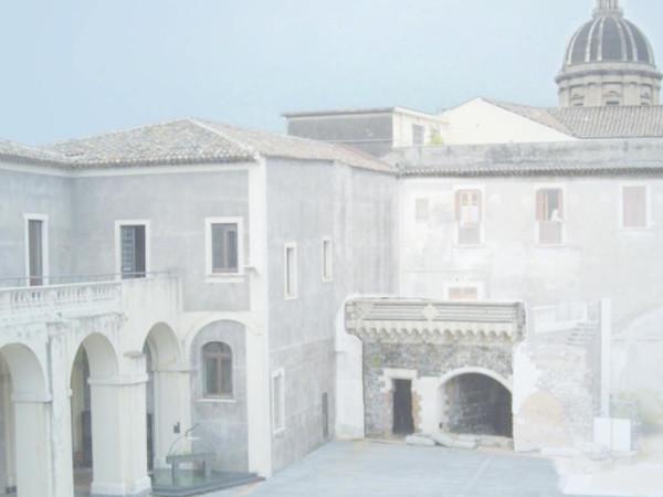 This is my mother, Palazzo della Cultura, Catania