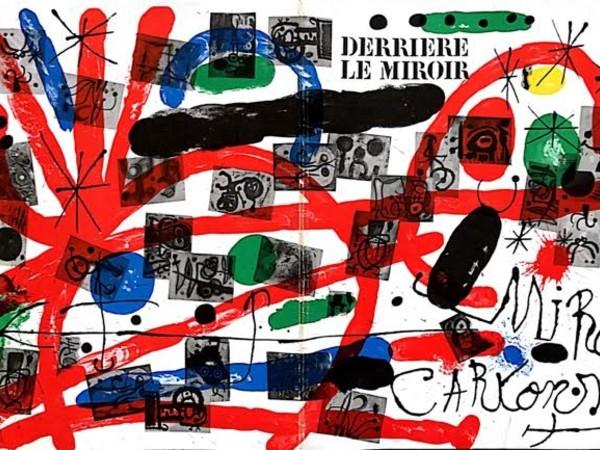 Fascicolo 151-152 di Derriere le miroir, con 26 litografie originali di Miro', 1965