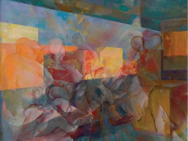 Franco Vasconi, Nello studio, cm. 60x70