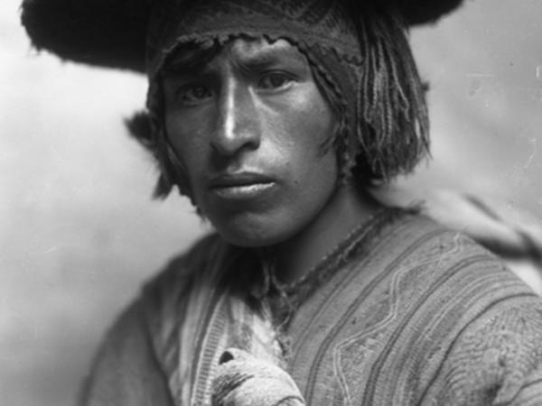 Campesino cusqueño. Cesar meza 1945_600