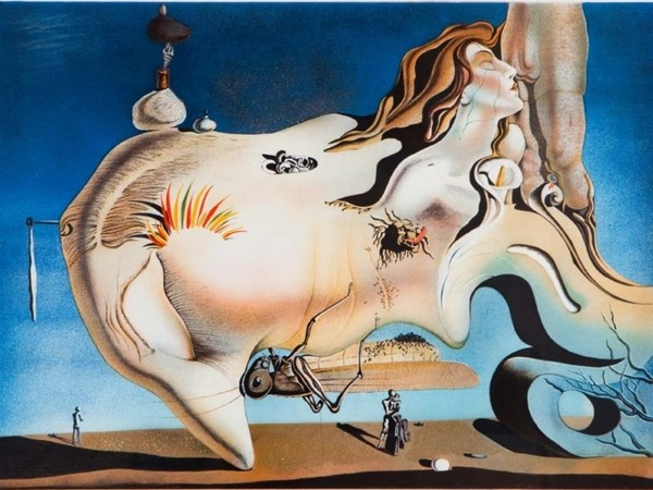Salvator Dalì, Le Grand Masturbateur, 1929