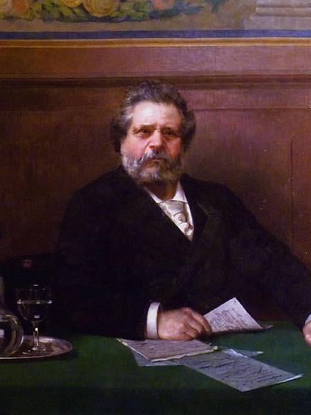 Ritratto di G. Carducci