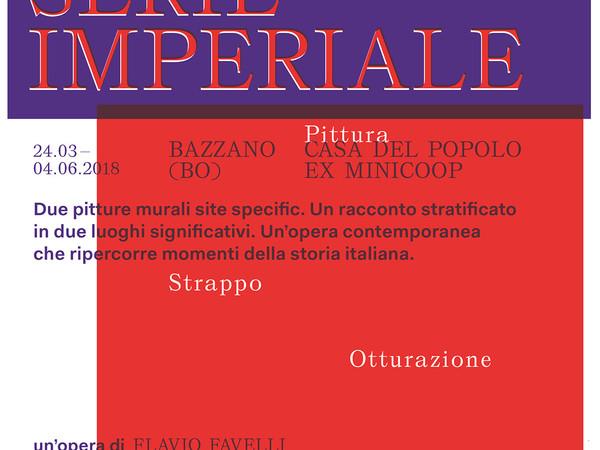 Flavio Favelli. Serie Imperiale