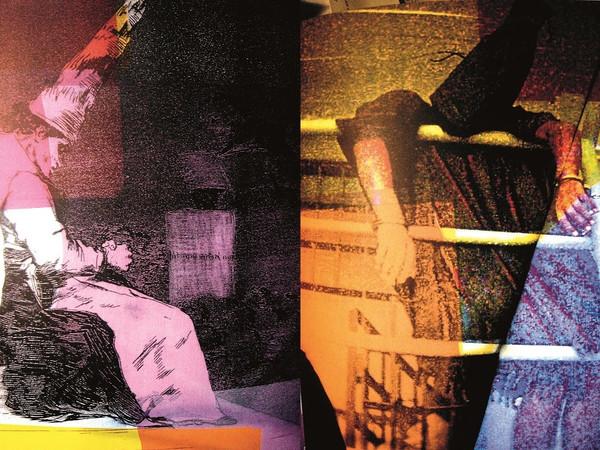 Gianluigi Colin, da Francisco Goya, Aquellos polvos, 1810-20; Iraq, carcere di Abu Ghraib_prigioniero iracheno, 2004