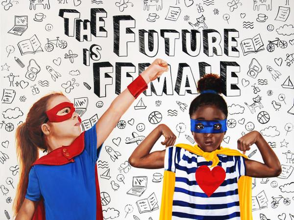 Sabrina Rocca, The Future is female, cm. 100x80