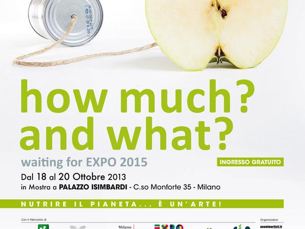How much? and what?, Palazzo Isimbardi, Milano