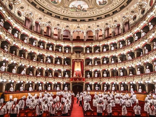 Fabrizio Villa, Chef all'opera, 1 aprile 2019. Teatro Bellini, Catania
