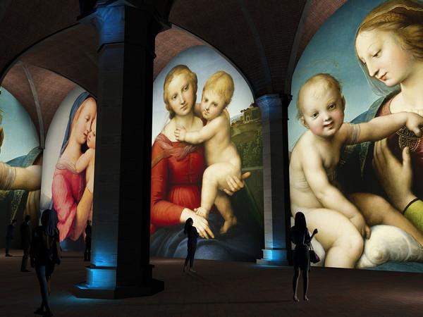 Raffaello e Firenze, rendering
