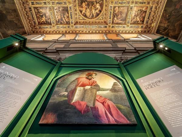 Agnolo Bronzino, Ritratto allegorico di Dante, Museo di Palazzo Vecchio, Firenze I Ph. Mattia Marasco / Muse