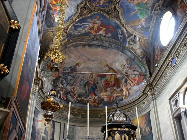 Affreschi della cupola