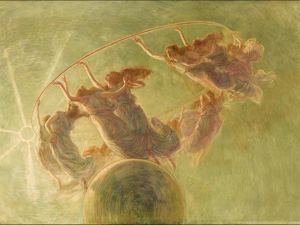 Gaetano Previati, La danza delle ore