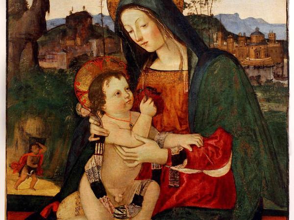Il Pintoricchio, Madonna con il Bambino e san Giovannino