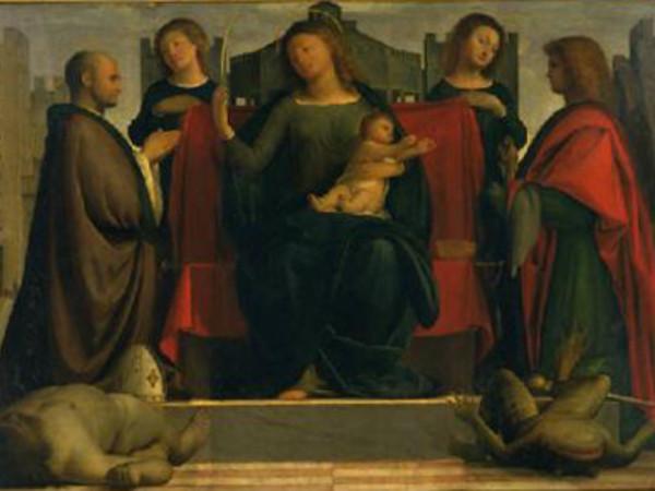 Madonna in trono tra Sant'Ambrogio e San Michele