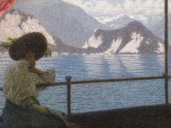 Angelo Morbelli, Battello sul Lago Maggiore (part.)